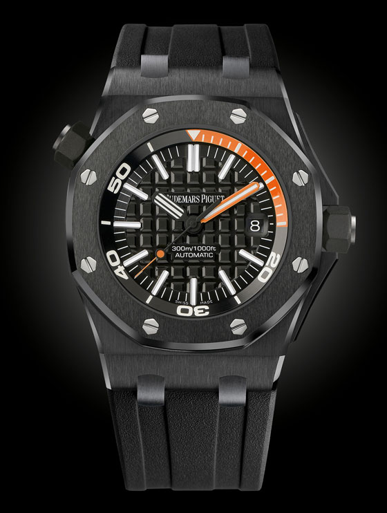 7 Black-on-Black Watches