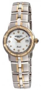 A Detailed Watch Reviews: Raymond Weil Women's Parsifal Two-Tone Mother-Of-Pearl Diamond