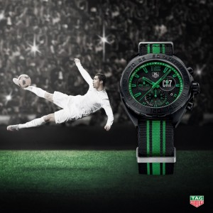Ronaldo AND TAG Heuer launch new ad campaign
