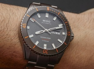 Hands-on With Mido Ocean Star Captain V Titanium 42.5mm Case Watch