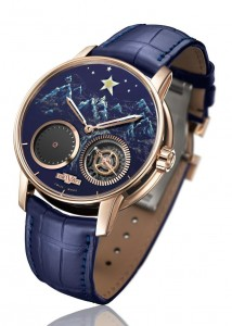 DeWitt Introducing A gorgeous Academia Out of Time Watch Featuring Rose Gold Case