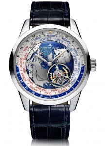 Hands-On With Jaeger-LeCoultre Geophysic Tourbillon Universal Time Men's Watch