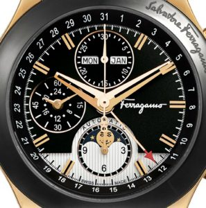 A Review Of Ferragamo 1898 Moonphase Chronograph Watch Watch Releases