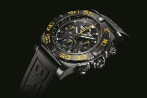 A Elegant Timepiece Of Breitling Chronomat Jet Team American Tour Men's Watch