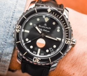 Take A Look At The Blancpain Tribute To Fifty Fathoms Mil-Spec Men's Watch