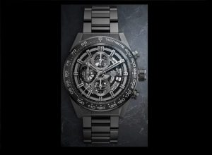 Take A Look At The TAG Heuer CARRERA HEUER-01 Full Black Matte Ceramic Watches